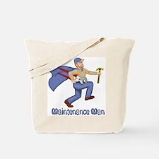 Maintenance Man Tote Bag