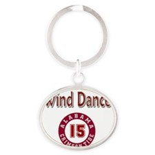 Wind Dancer Oval Keychain