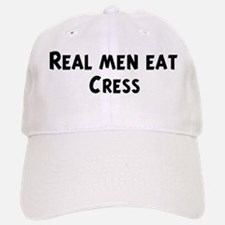 Men eat Cress Baseball Baseball Cap