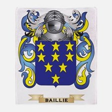 Baillie Coat of Arms Throw Blanket