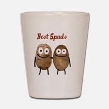 Best Spuds Shot Glass