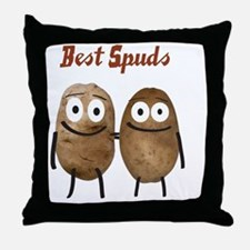 Best Spuds Throw Pillow