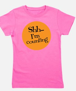 Knit Sassy - Shh... I'm Counting Girl's Tee