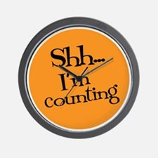Knit Sassy - Shh... I'm Counting Wall Clock