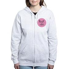 Knit Sassy - Knit or Die Zip Hoodie