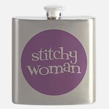 Sew Sassy / Kit Sassy - Stitchy Woman Flask