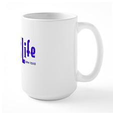 Purple on Lime JesusLife Mug