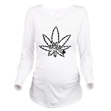 stoned leaf Long Sleeve Maternity T-Shirt