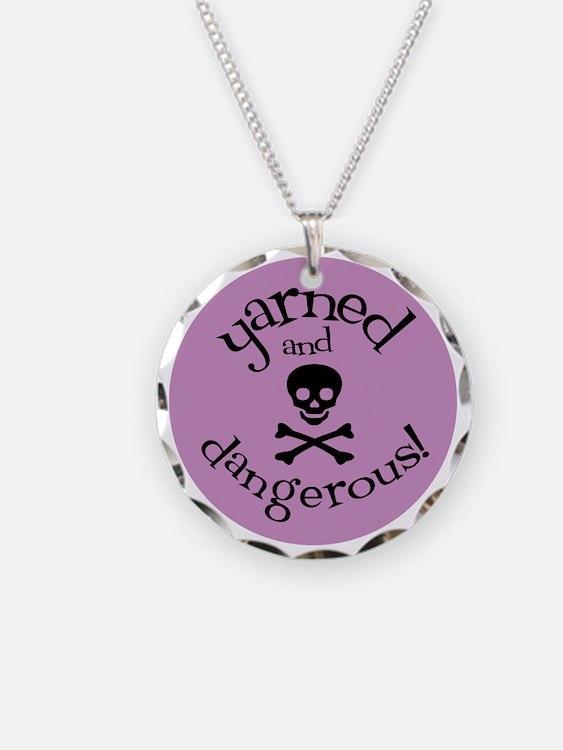 Knit Sassy - Yarned & Danger Necklace
