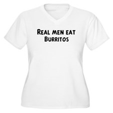 Men eat Burritos T-Shirt