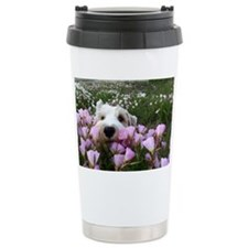 flower dobby Travel Coffee Mug