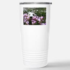 flower dobby Travel Mug