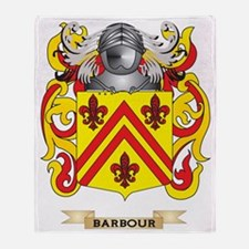 Barbour Coat of Arms Throw Blanket