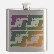Color Gun Flask