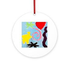 swirl Round Ornament