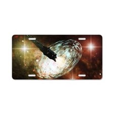 s3_laptop_skin Aluminum License Plate