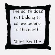 We Belong Throw Pillow