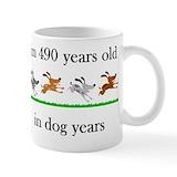 70th birthday Small Mugs (11 oz)