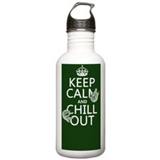 Keep Calm and Chill Ou Water Bottle