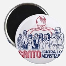 Santo vs the Monsters Magnet