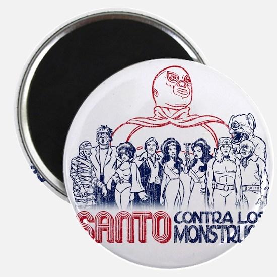 Santo vs the Monsters Magnet