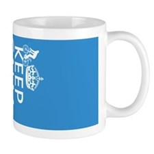 Keep Calm and Cycle On Mug