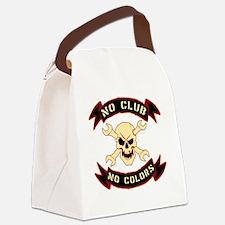 No colours no club Canvas Lunch Bag
