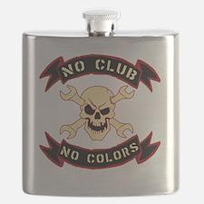 No colours no club Flask