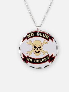 No colours no club Necklace