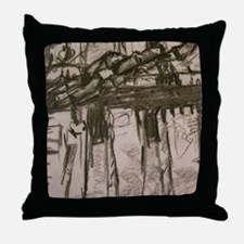 Its not real Throw Pillow