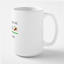 80 birthday dog years 1 Large Mug