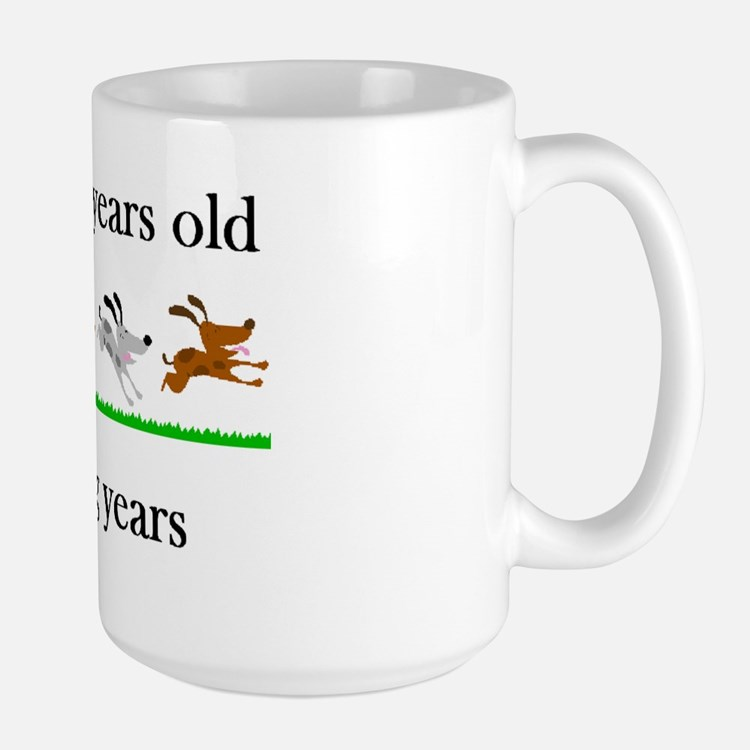 80 birthday dog years 1 Mug