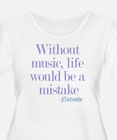 music and lif T-Shirt
