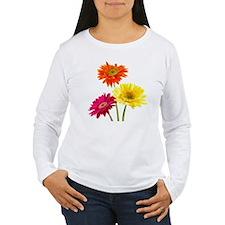 Daisy Gerbera Flowers T-Shirt