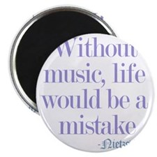 music and life Magnet