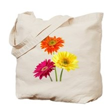 Daisy Gerbera Flowers Tote Bag