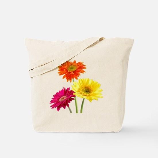 Daisy Gerbera Flowers Tote Bag