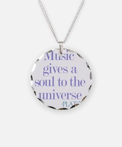Music gives soul Necklace