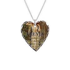 Freyja Necklace Heart Charm