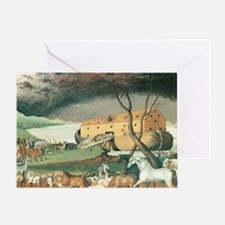 Noah's Ark by Edward Hicks Greeting Card