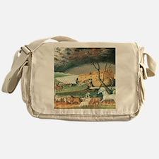 Noah's Ark by Edward Hicks Messenger Bag