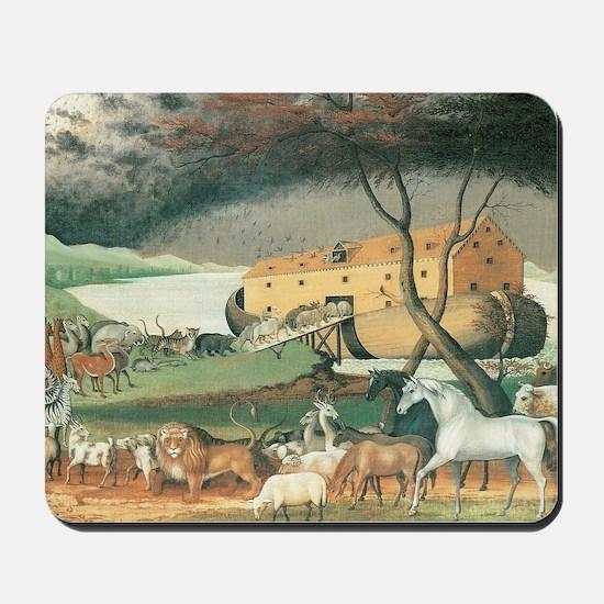 Noah's Ark by Edward Hicks Mousepad