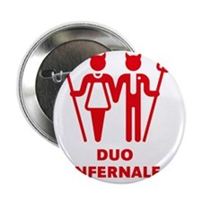 "Duo Infernale 2.25"" Button"