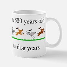 90 birthday dog years 1 Mug