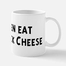 Men eat Colby-Jack Cheese Mug