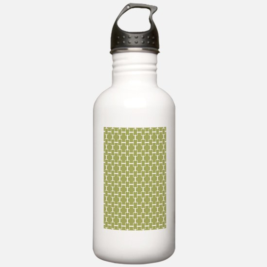 Rectangle Links D60x84 Water Bottle