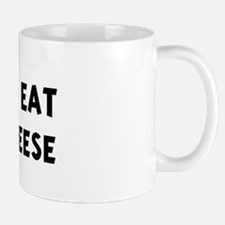 Men eat Colby Cheese Mug