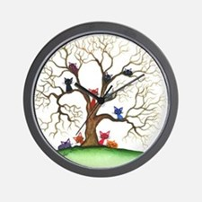 Fayetteville Stray Cats Wall Clock