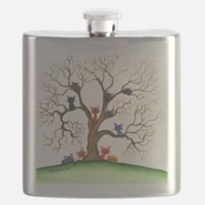 Fayetteville Stray Cats Flask