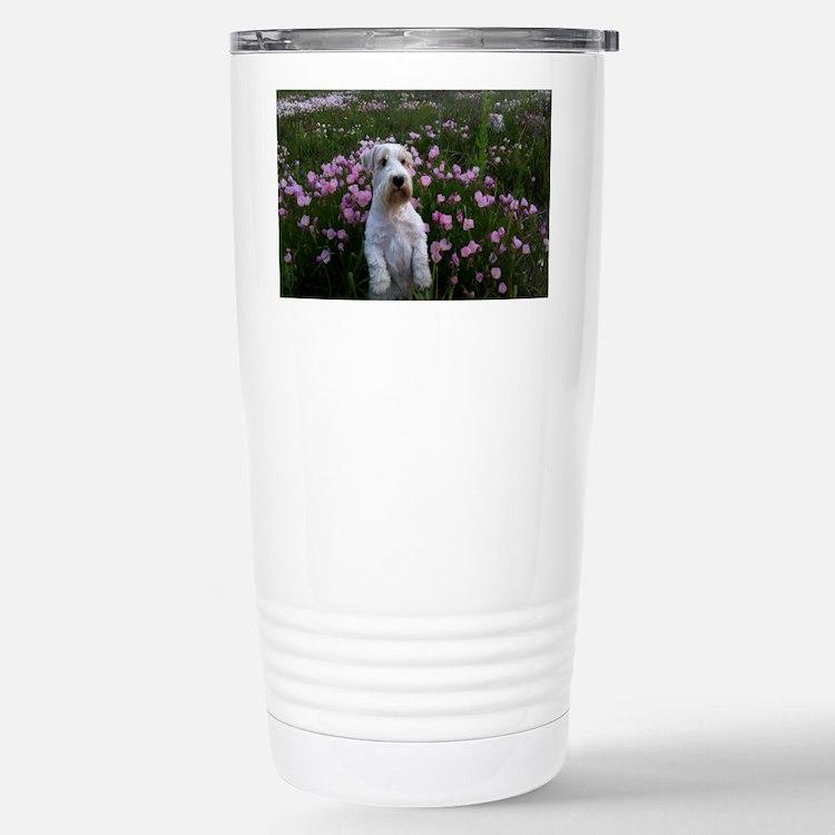 Sealy Sit Flowers Travel Mug